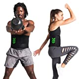 GRAVITEX 9lbs Weighted Vest / Belt – Adjustable For Men Woman – Flexible and Comfortable Workout Fitness Equipment for Running, Strength Training Exercises and Home Gym