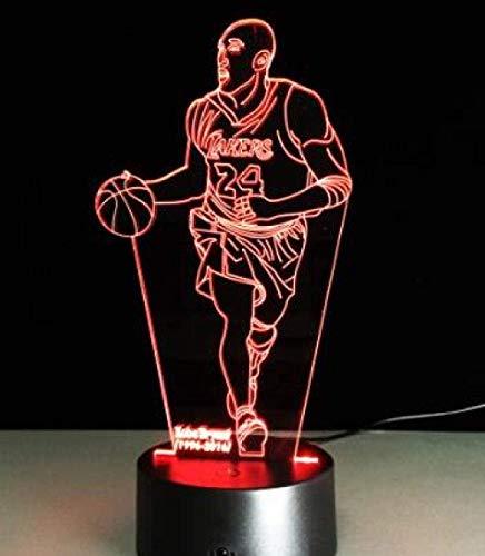 3d visual3D BasketballMichael Jordan USB Led Junge Kind Fan Geschenk D Geburtstag Led Schuhe Turnschuhe Direkte Lieferung @ Model_11_Model_Night Light