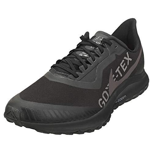 Nike Herren Zoom Pegasus 36 Trail GTX Leichtathletikschuhe, Mehrfarbig (Black/Thunder Grey/Total Orange 001), 46 EU