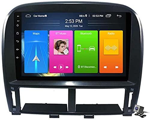Dmnsdd Coche Stereo Sat Android 10.0 Radio Para Lexus Ls430 Gsp 1999-2006, Gps Navigación De 9 Pulgadas Unidad De Cabeza De 9 Pulgadas Reproductor Multimedia M(Size:ocho núcleos,Color:WIFI:2GB+32GB)