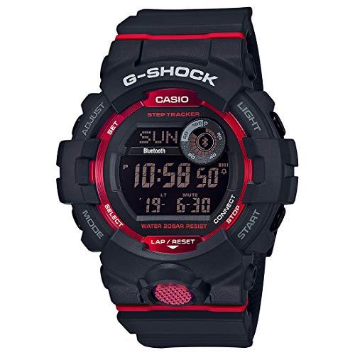 Relógio Casio G-Shock G-Squad GBD-800-1DR Monitor de Passos Bluetooth