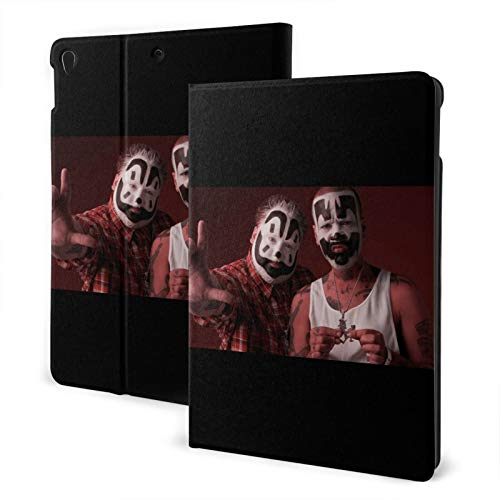 Insane Clown Posse Ultra-Thin Shell Leather Protective Cover,Suitable For Ipad 7th 10.2 Inches/Ipad Air 3 And Pro10.5 Inches Multi-Angle Split Vertical Protective Cover Auto Sleep/Wake Up Tpu