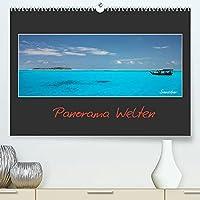 Panorama Welten (Premium, hochwertiger DIN A2 Wandkalender 2022, Kunstdruck in Hochglanz): Weltweite Panorama Impressionen verfuehren Sie in wunderschoene Landschaften (Monatskalender, 14 Seiten )