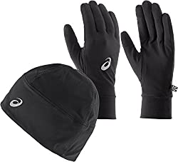 ASICS Performance Pack - Winter Beanie Plus Gloves - Small
