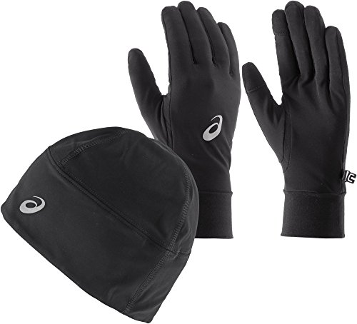 ASICS Performance Pack - Winter Beanie Plus Handschuhe - Small