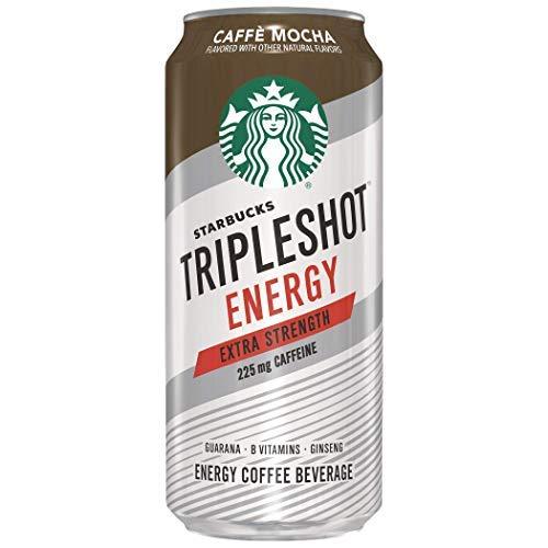 Starbucks Tripleshot Energy Extra Strength Caffe Mocha 15oz Cans 12 Pack