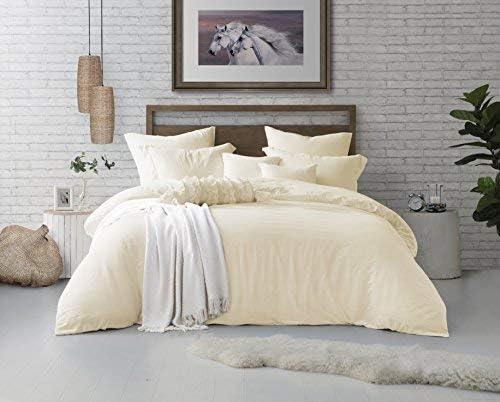 Swift Home Microfiber Washed 5% OFF Max 63% OFF Duvet Set Sham Ult Bedding Cover