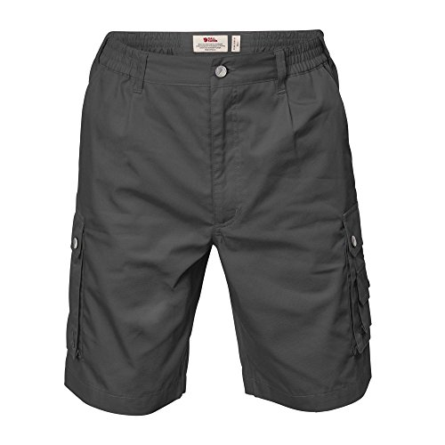 FJÄLLRÄVEN Herren Reiseshorts Sambava Shade, Dark Grey, 52, F82960-030