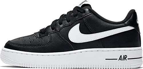 Nike AIR Force 1 AN20 (GS) Running Shoe, Black/White, 38 EU