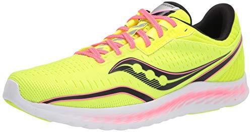 Saucony Women's Kinvara 11 Road Running Shoe, Citron, 5.5