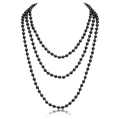 CrystalTears Mala Necklace Bracelet 6 mm Beads Wrap Bracelet Gemstones Necklace Healing Reiki Gemstone Buddhist Prayer Chain obsidian