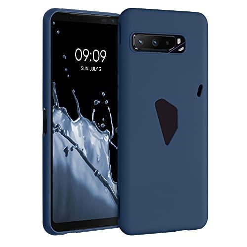kwmobile Hülle kompatibel mit Asus ROG Phone 3 (ZS661KS) - Hülle Handyhülle - Handy Hülle in Marineblau
