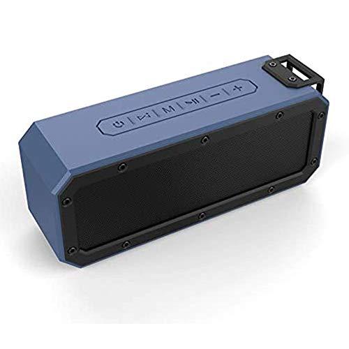 HBBOOI Wireless Bluetooth Lautsprecher Tragbare, Verbesserter IP67 Wasserschutz, 24 Watt Wireless 360° Sound Kabelloser Lautsprecher Tragbarer Mit Eingebautem Mikrofon, Für Ios, Android, TV
