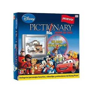 Mattel Pictionary Disney DVD