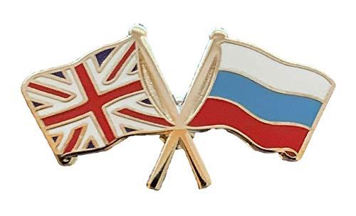 UK Canada Badge Flag Pin Friendship England Canadian English GB Union Jack Metal