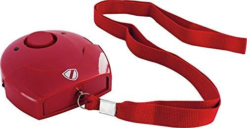 SCHWAIGER -5620- SOS Notfall-Alarm   Panik-Alarm Schlüsselanhänger   Taschen-Alarm für Frauen   Notfall-Alarm Kinder   Notfallalarm Senioren   Sirene   Sicherheit   kompakte Bauform