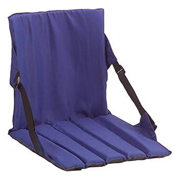 Coleman Portable Stadium Seat | Bleacher Cushion with Backrest | Lightweight Padded Seat Cushion