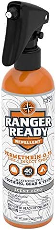 Ranger Ready Permethrin Outstanding 0.5% Clothing-Worn Repellent Scent Zero Seasonal Wrap Introduction