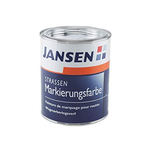 JANSEN Straßenmarkierungsfarbe 750ml Fb. gelb (ca. RAL 1023)