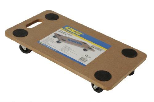 Kinzo 29631 - Plataforma Rodante para Desplazar Muebles (hasta 150 kg), Marrón