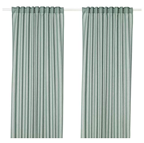 IKEA Dünne Vivan Vorhänge L 98 1°2 x B 57 L: 98 ½ x W: 57 grün