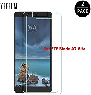 Phone Screen Protectors - For ZTE BLADE A7 2019 2.5D Tempered Glass For A7 Vita Glass Screen Protector 9H Mobile Phone Fro...