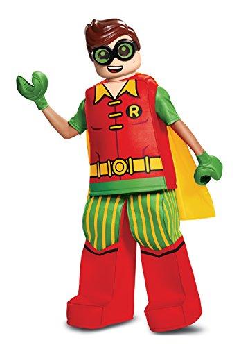 Lego DISK66319K Prestige Robin - Costume da pettirosso, taglia M