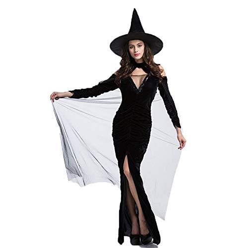 Grossartig Halloween geest slank stretch heks rok heks kostuum spel set halloween jurken