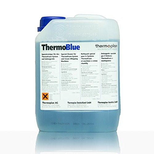 Thermoblue Milchreiniger für Black&White Kaffeemaschinen, Foamer, Foamino und Sahnemaschinen von Thermoplan (2,5 Liter)