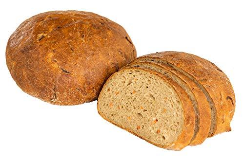 Almgourmet, Karotten Sauerkraut Brot, frisches Brot zum fertigbacken - 500g