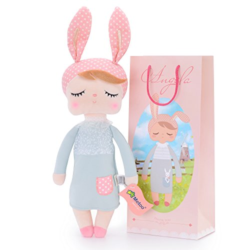 Metoo Puppe Rabbit DOLL Angela (Grau)