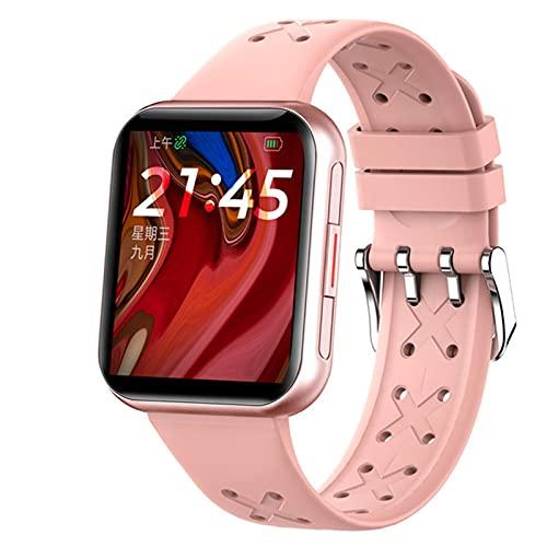 YDK G16 Deportes Smartwatch IP68 Impermeable Touch Touch Touch Touch Cardón Monitoreo Monitoreo Smart Reloj, Hombres Y Mujeres, Regalos del Día De San Valentín para Android iOS,A