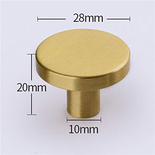 Piore 2 stks nieuwe vintage massief messing kast knop handvat dressoir knoppen goud messing lade trekt handgrepen moderne eenvoudige knop keuken, e