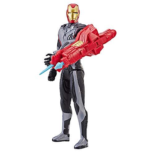 Avengers - Figura Titan Power Fx 2.0 Iron Man (Hasbro E3298EW0)