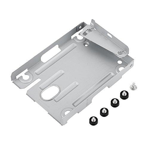 """Soporte de Montaje HDD para Unidad de Disco Duro Super Slim de Playstation 3 para PS3, Adaptador de Soporte de Disco Duro HDD de 2,5""""con Tornillos para Sony PS3 CECH-400X"""