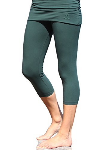 ESPARTO 3/4 Yogahose Thanda in Thymian M