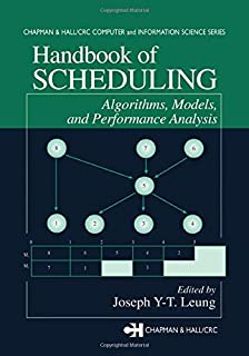 Handbook of Scheduling: Algorithms, Models, and Performance Analysis: 01