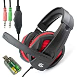 I-CHOOSE LIMITED 3.5mm Computer Headset with Stereo Microphone | Zoom or Skype Multimedia