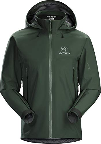 Arc'teryx Beta AR Jacket Men's | Versatile Waterproof Gore-TEX All Round Shell Jacket | Conifer, Medium