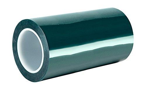 TapeCase 8992 Klebeband aus Polyester/Silikon, 22,9 cm x 22,9 cm, Dunkelgrün