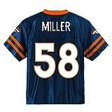 Outerstuff Von Miller Denver Broncos #58 Navy Blue Youth Alternate Player Jersey (Small 8)