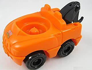 Little People Fisher Price Mechanic, Garage, City, Car Wash, Construction Play Sets Replacement Orange Tow Truck