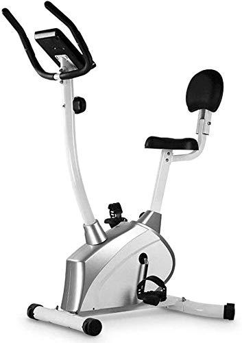 Máquinas de step Silencio bicicleta estática Home Gym Equipment cómodo cojín Resistencia Ajuste fácil de mover una extremidad inferior de bicicletas magnética coche de control horizontal Bicicleta de