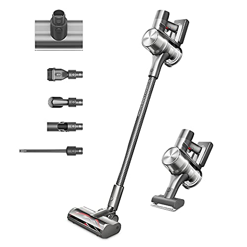 Dreame T30 Cordless Vacuum Cleaner by Dreametech, 90mins Long Runtime Stick Vacuum, 190 AW Robust Suction Handheld Vacuum, Cordless Vacuum with HEPA Filters for Hard Floor Stairs
