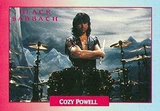 Cozy Powell trading Card (Black Sabbath) 1991 Brockum Rockcards #251