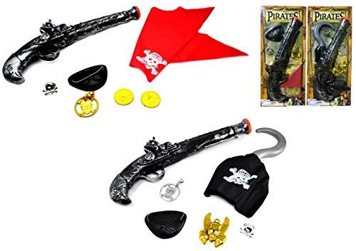 ARUNDEL SERVICES EU Disfrazarse de Pirata Armas Piratas Accesorio para Disfraces Juguete Piratas Juego de Piratas para Disfraces para niños