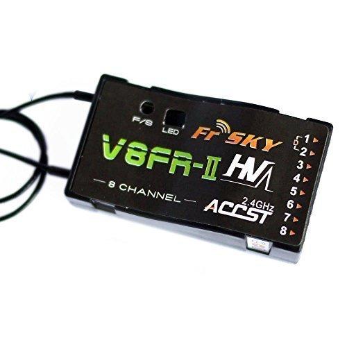 FrSky Taranis Compatible Receiver V8FR-II 8-Channel 2.4ghz ACCST