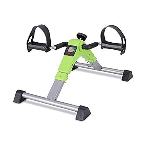 Mini stepper Pedal ejercitador - plegable portátil de pie, mano, brazo, pierna...