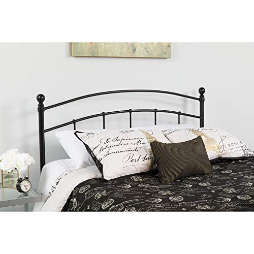 Flash Furniture Woodstock Decorative Black Metal Queen Size Headboard