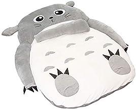 Tatami Mattres Anime Totoro Lazy Plush Bed Cat Sleeping Bag Rugs Breathable Folding My Neighbor Totoro Bed Tatami Mattress...